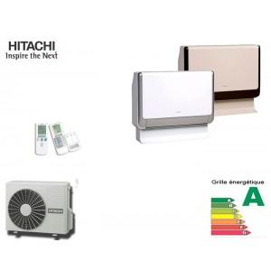climatisation r versible hitachi inverter console shirokuma soufflage par le bas ae v randa. Black Bedroom Furniture Sets. Home Design Ideas