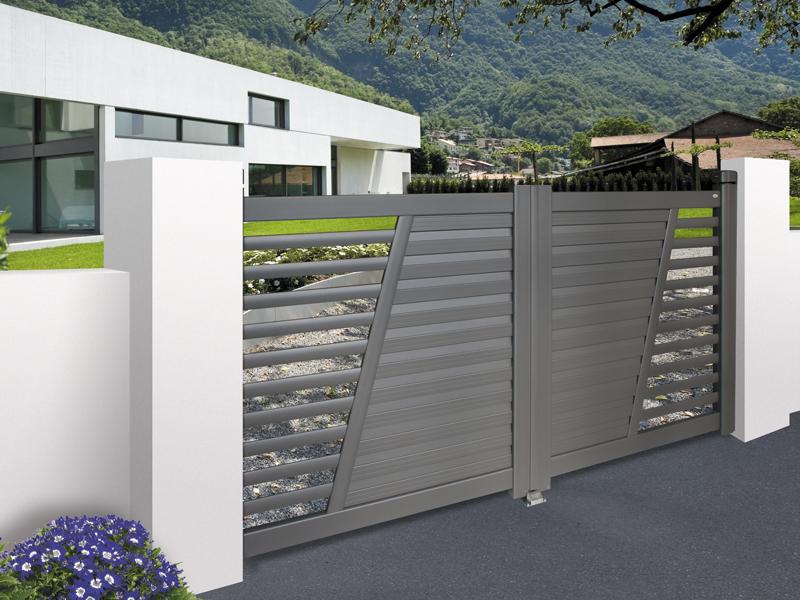 Portails et portillons sur mesure ae v randa for Portail jardin metal
